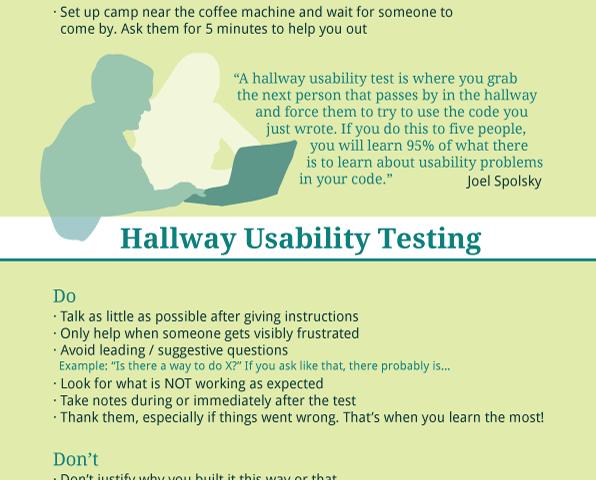 Hallway Usability Tests