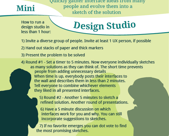 (Mini) Design Studio