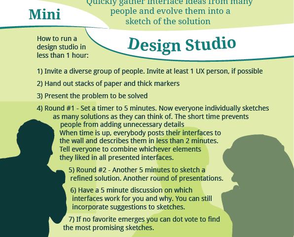 (Mini) Design Studio