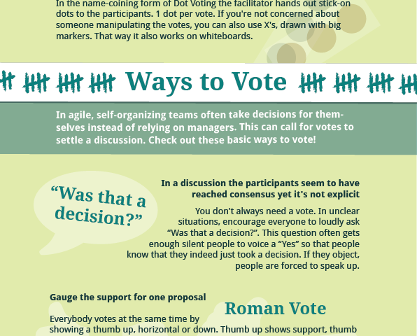 Ways to Vote